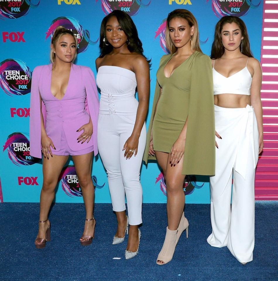 Fifth Harmony, favoritas en los Teen Choice Awards