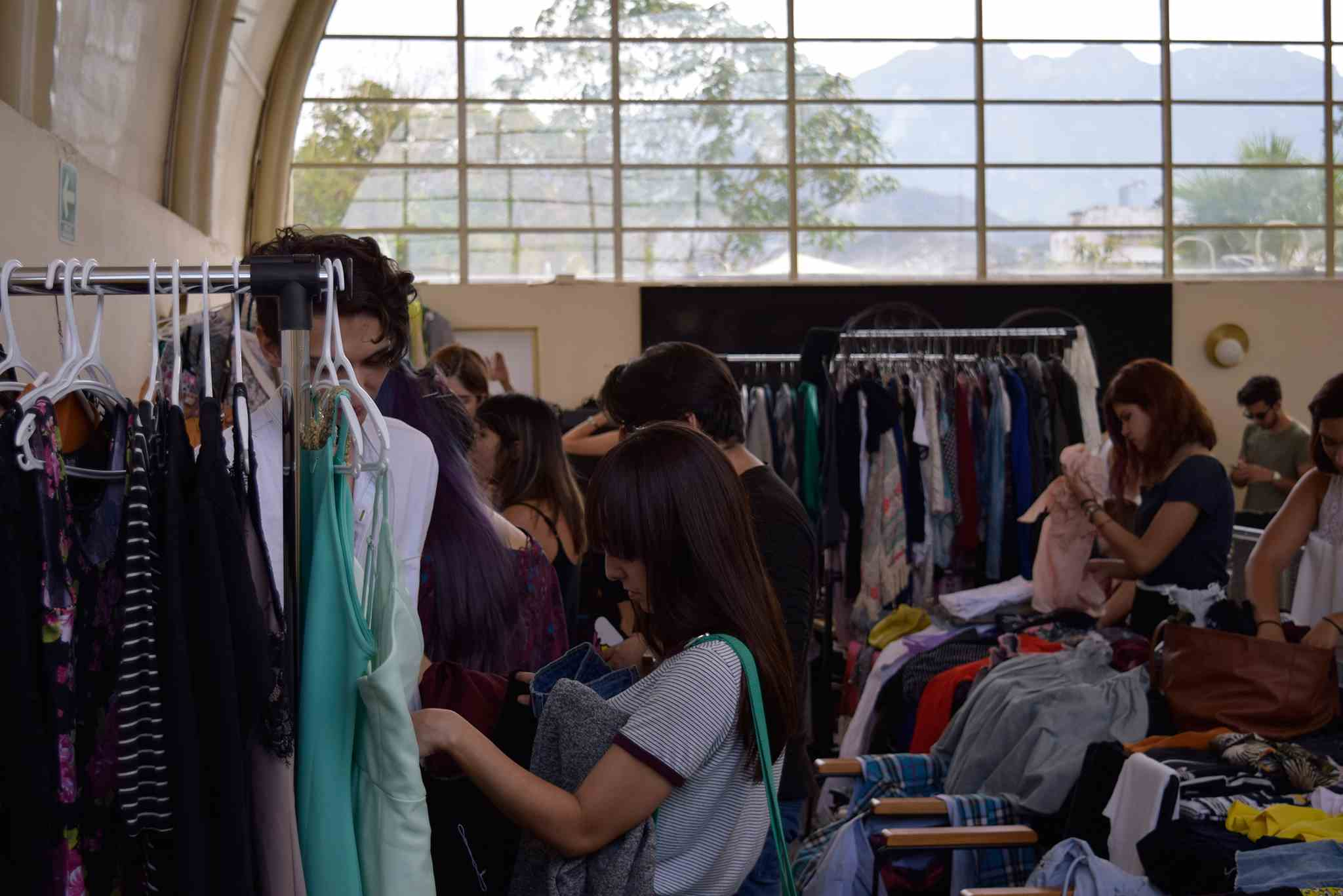 Thrift shopping en Monterrey