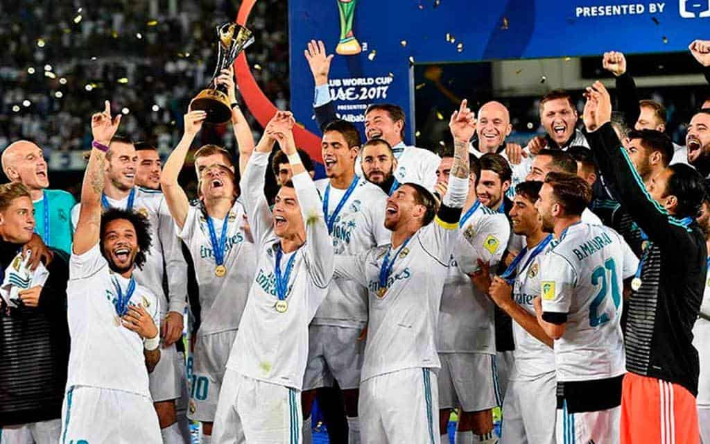 Real Madrid se anota en la final del Mundial de Clubes