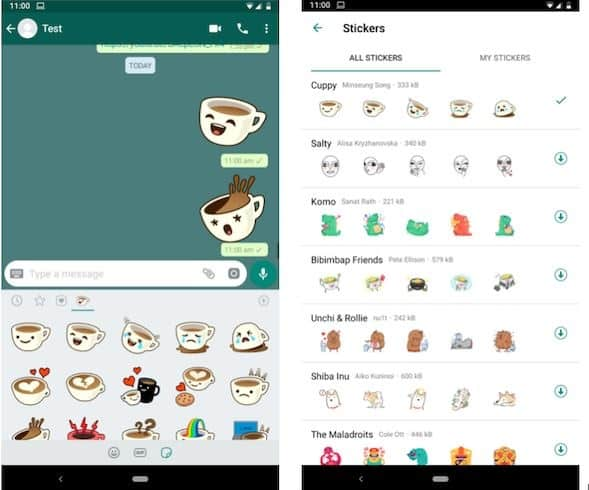 ¡Por fin! Llegan los stickers de WhatsApp