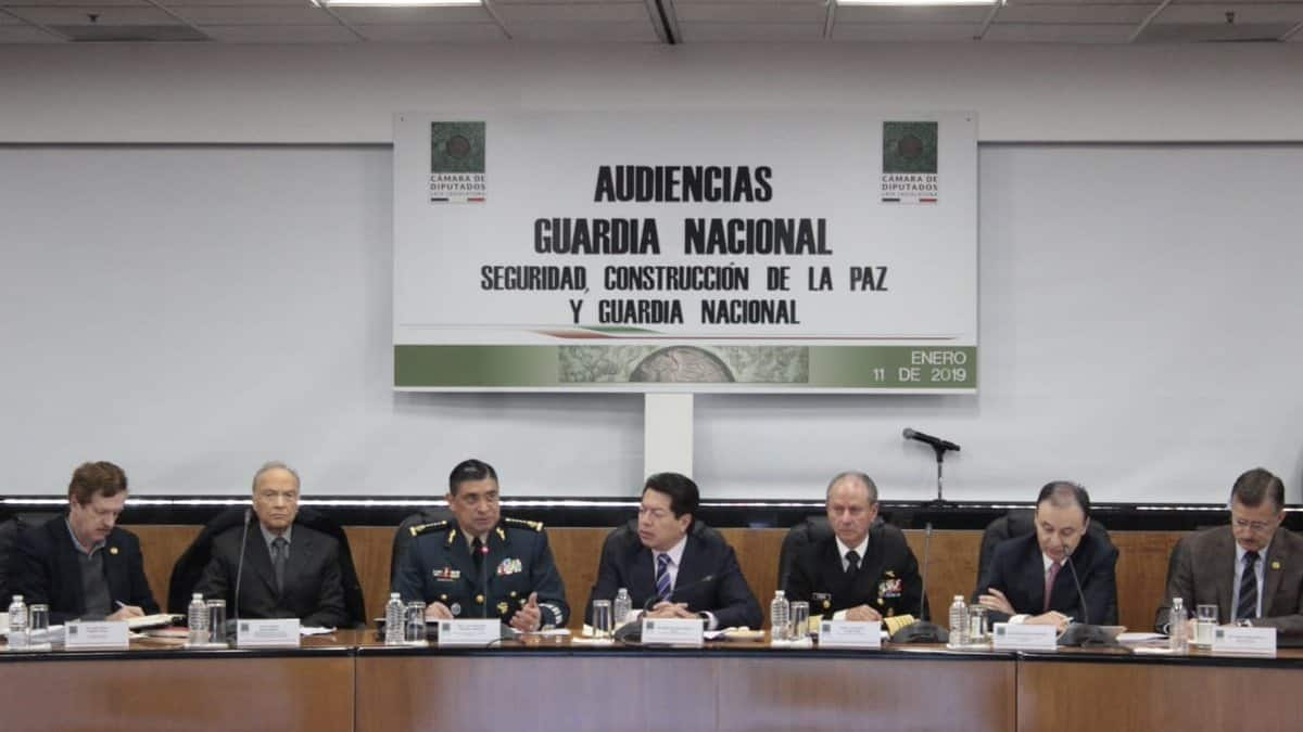 Gobierno federal solicita que Guardia Nacional tenga mando civil