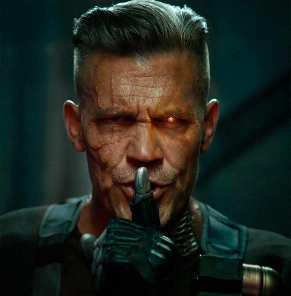 Josh Brolin como ´Cable´ para ´Deadpool 2´