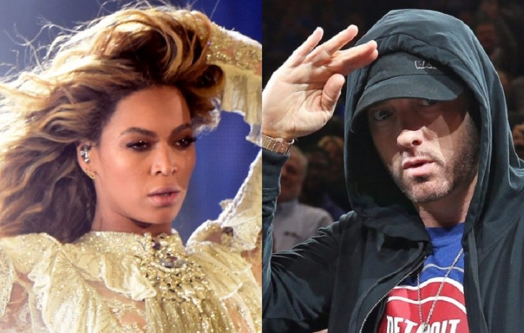 Eminem y Beyoncé lanzan balada ´Walk on water´