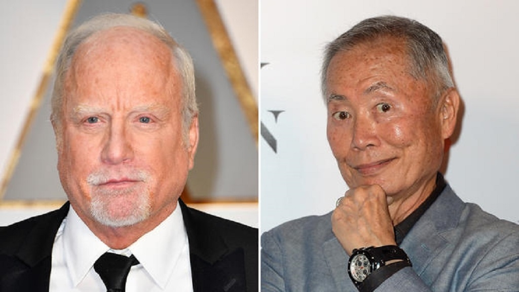 Acusan a George Takei y Richard Dreyfuss de acoso sexual
