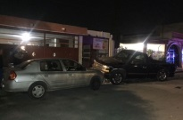 Ebrio provoca accidente múltiple