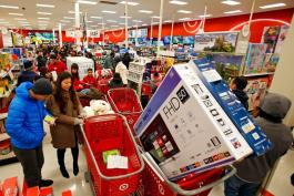 Vive Estados Unidos su espectacular Black Friday