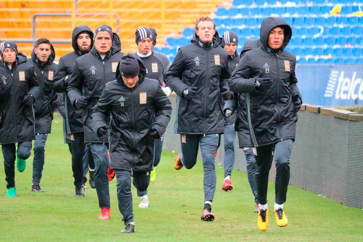 Tigres entrena a puerta cerrada en estadio universitario for Puerta 5b estadio universitario