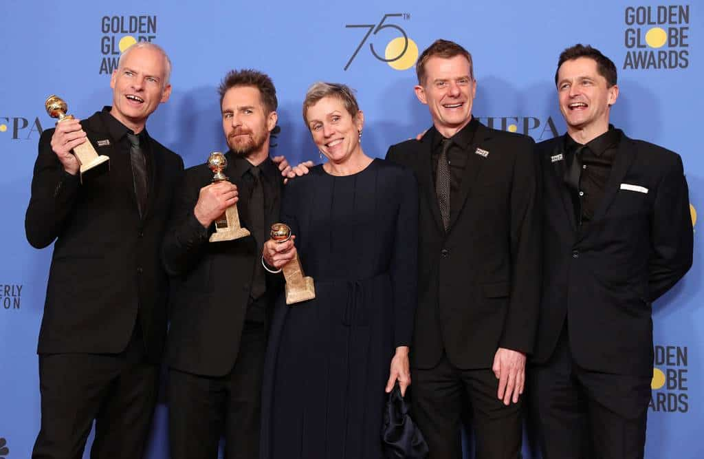 Three Billboards Outside Ebbing, Missouri se abre paso en los Globos de Oro. EFE