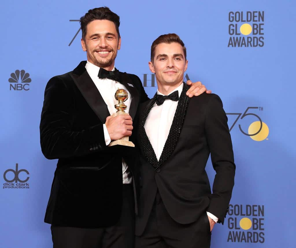 James Franco (The Disaster Artist), mejor actor de comedia en los Globos de Oro. EFE