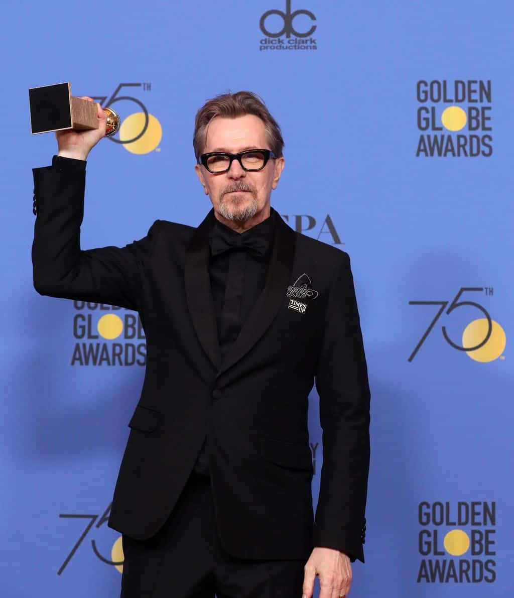 Gary Oldman, mejor actor de drama por Darkest Hour. EFE