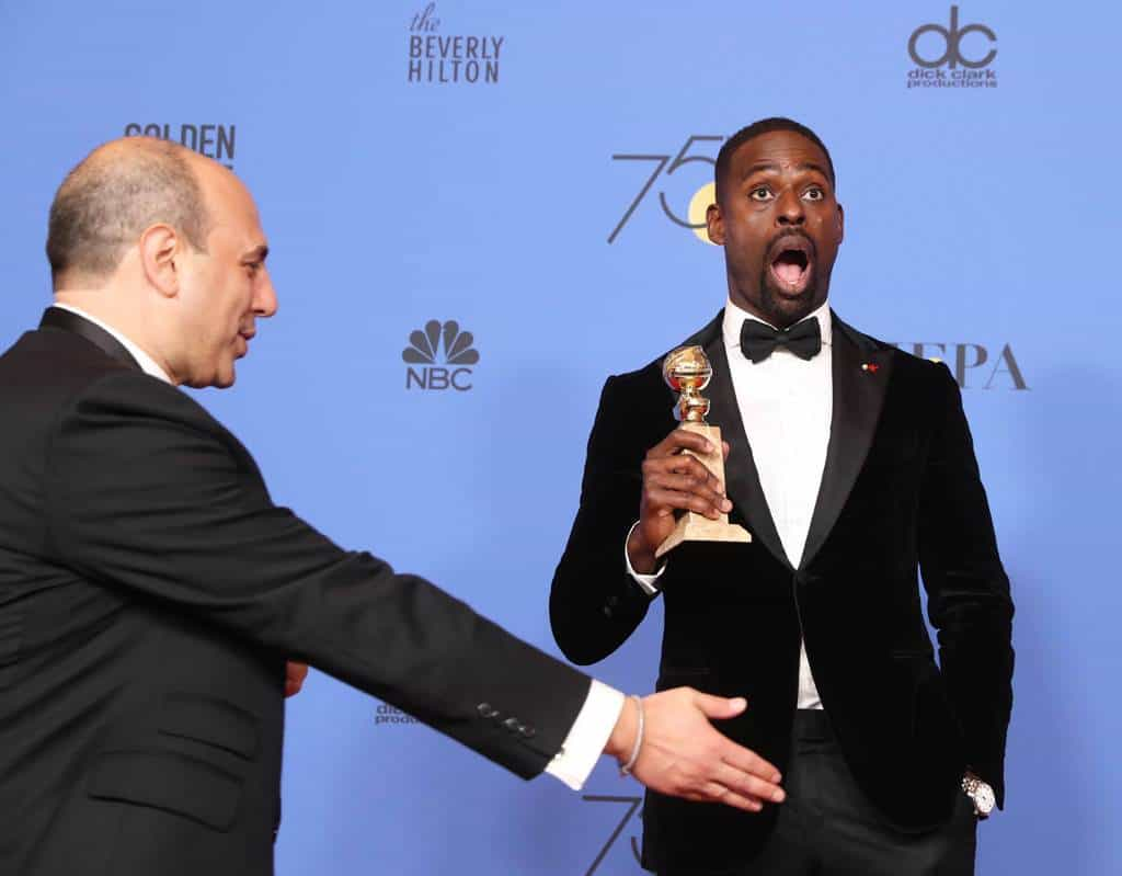 Sterling K. Brown, Globo de Oro al mejor actor de una serie dramática. EFE