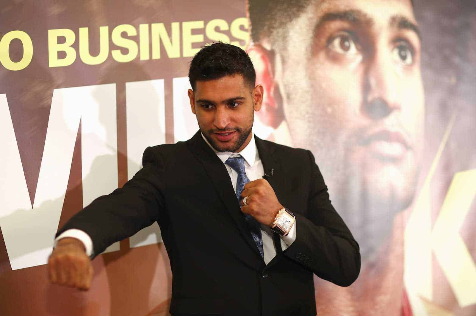 ¡Amir Khan regresa al boxeo!