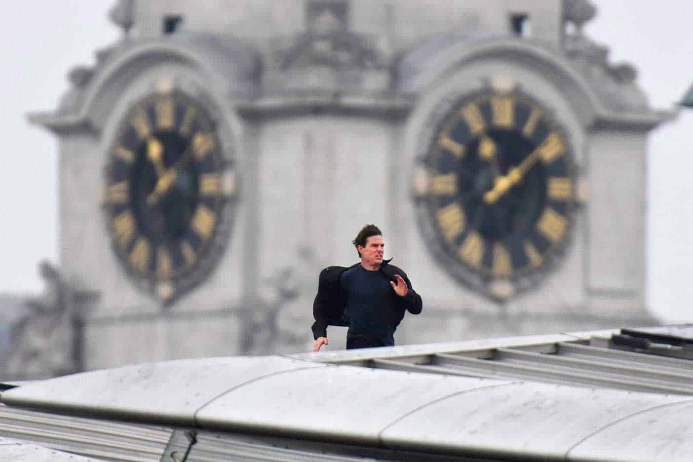 Tom Cruise hizo una ´misión imposible´ en Londres