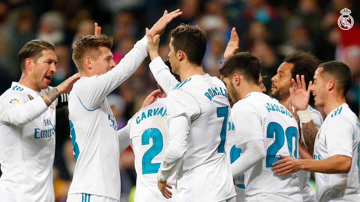 Real Madrid golea a Real Sociedad