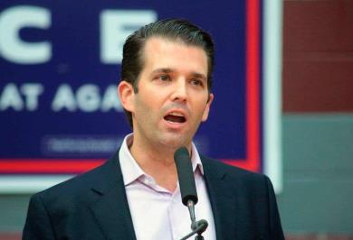 Carta dirigida a Trump Jr. dice: Eres una terrible persona
