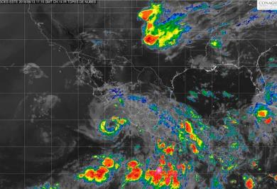 Huracán Bud se degrada a tormenta tropical
