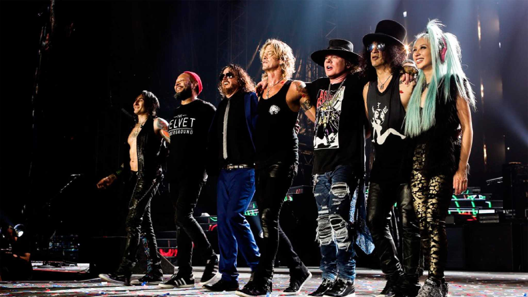 Regresa Guns N' Roses a Monterrey