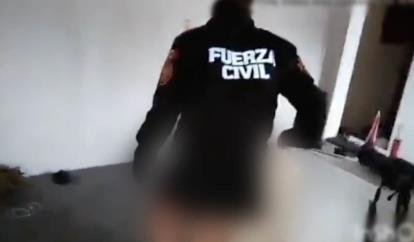 Exhiben a elemento de Fuerza Civil en video sexual