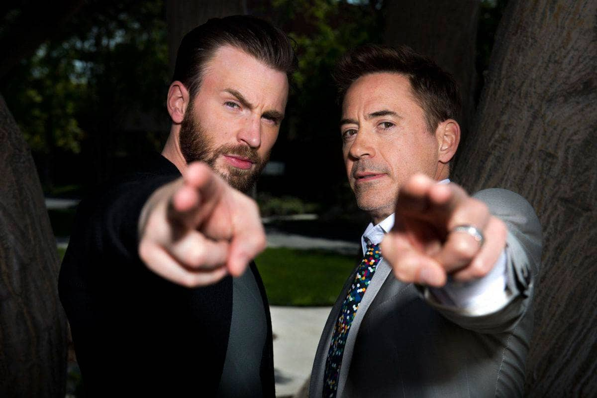 Robert Downey Jr le dedica mensaje emotivo a Chris Evans