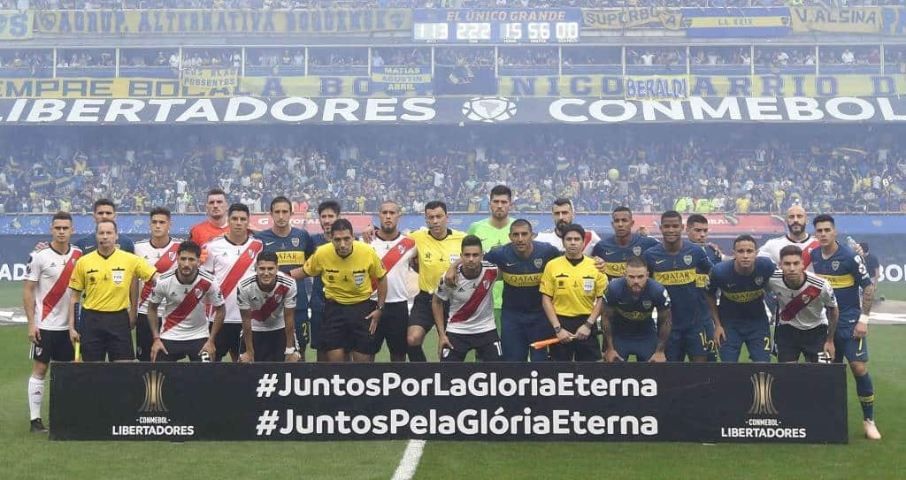 ¿Final Boca vs. River se jugaría en Italia?
