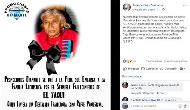 Fallece ´El Yaqui´, referee de lucha libre