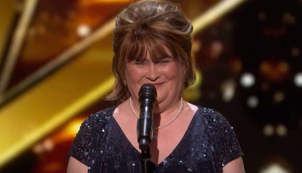 Susan Boyle regresa a America's Got Talent