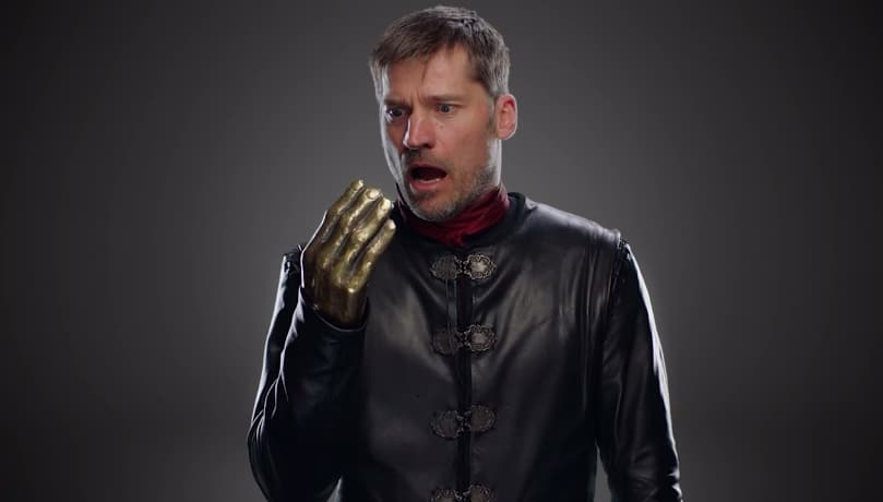 Otro error en Game of Thrones: le sale mano a Jaime Lannister