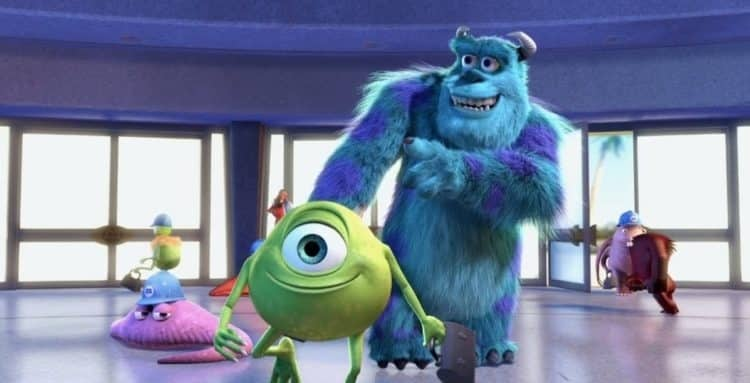Disney lanza primer póster de serie de Monsters Inc.
