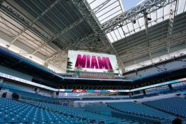 Ultiman preparativos para el Super Bowl 54 en Miami