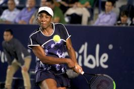 Debut y despedida de Venus Williams en Monterrey