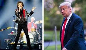 The Rolling Stones amenazan con demandar a Trump