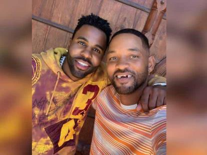 Jason Derulo deja 'chimuelo' a Will Smith en video de Tik Tok