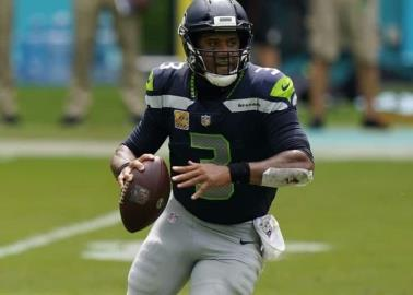 Seattle Seahawks mantiene invicto y vence 31-23 a Dolphins