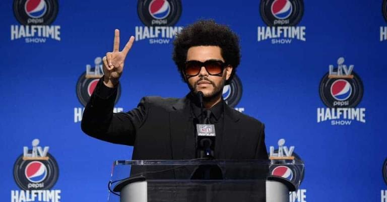 The Weeknd listo para  atenuar su show para el Super Bowl